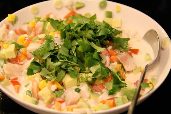 Poisson Cru - Tahitianischer Salat
